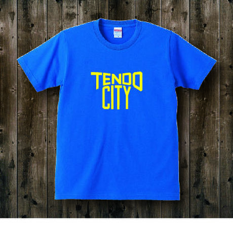 TENDO CITY T_shirt Blu