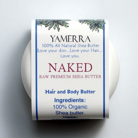 NAKED: UNSCENTED SHEA BUTTER (シアバター/無香料)