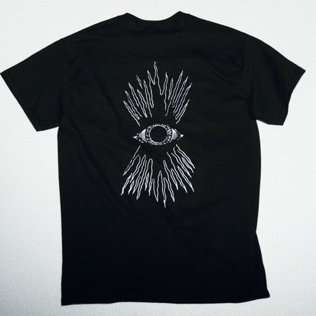 SECRET DUDE  Line of vision  T-shirts  BK