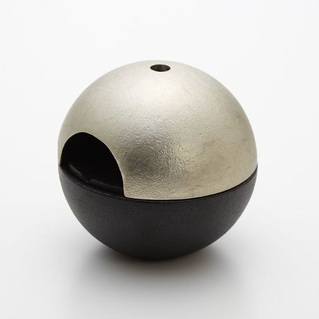 rolo ashtray aluminum