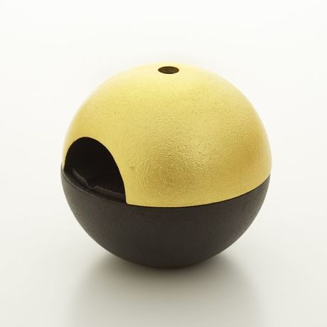 rolo ashtray gold