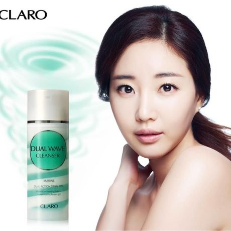 CLARO DUAL WAVE CLEANSER【韓国で話題の「竜巻洗顔法」一度で二度洗顔効果が期待できる大人気商品】