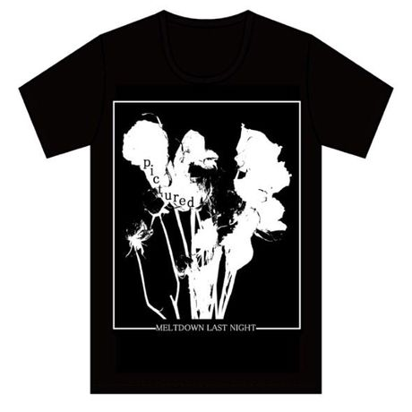 【T-shirt】pictured T-shirt [black]