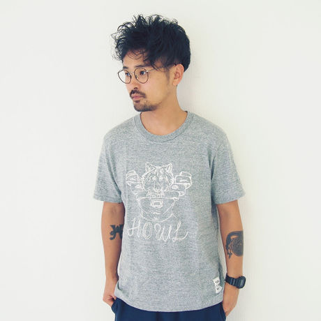 T-shirt - HOWL - Heather Gray