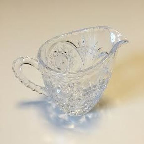 Anchor Hocking Clear Glass Creamer