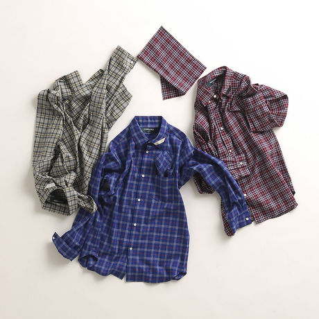 【PHINGERIN】フィンガリン SOUP SHIRT PLAID 【SALE】