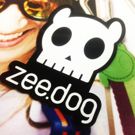 zee.dog logo sticker ロゴステッカー